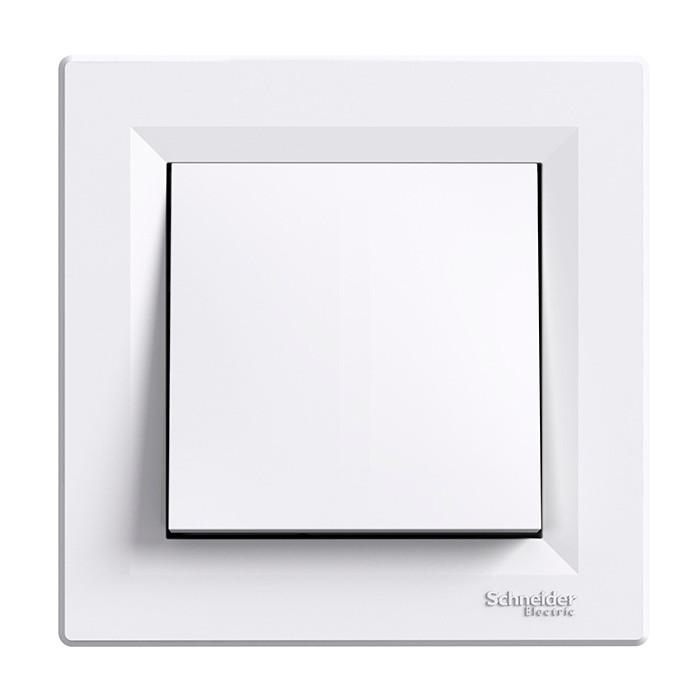 Asfora - intermediate switch, white