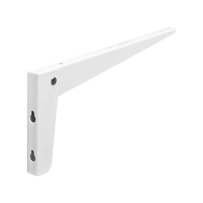 Folding bracket 300x130 white