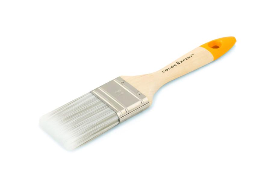 COLOR EXPERT Flat brush 50mm 6th grade, PBTmix bristle, hardwood handl