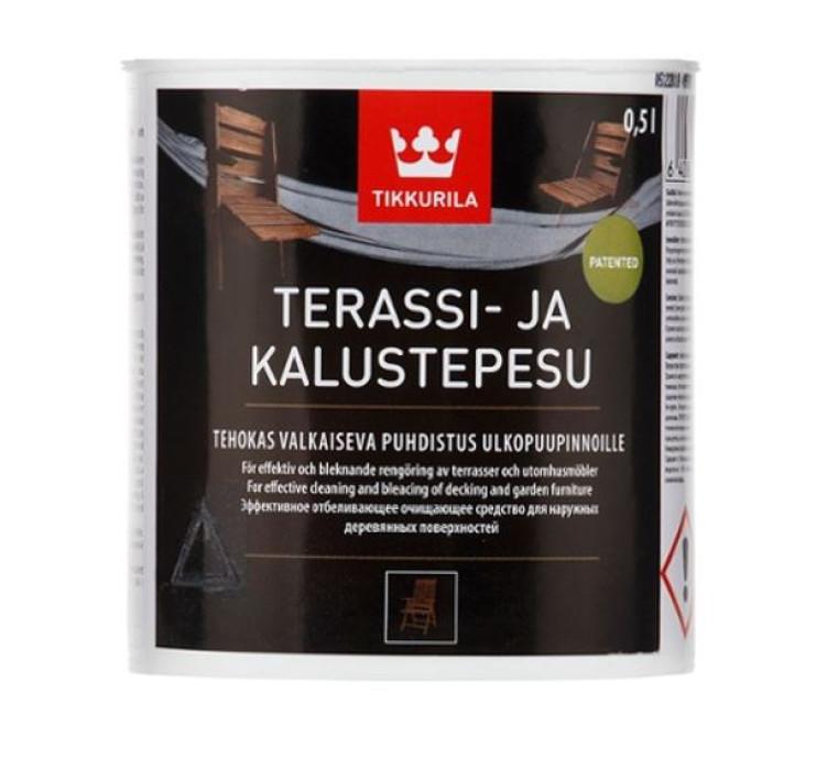 Tikkurila TERASSI- JA KALUSTEPESU 0.5L Cleaning Agent