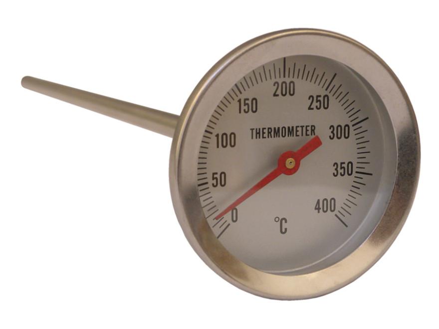 Pisla termometrs cepeškrāsnij 200mm