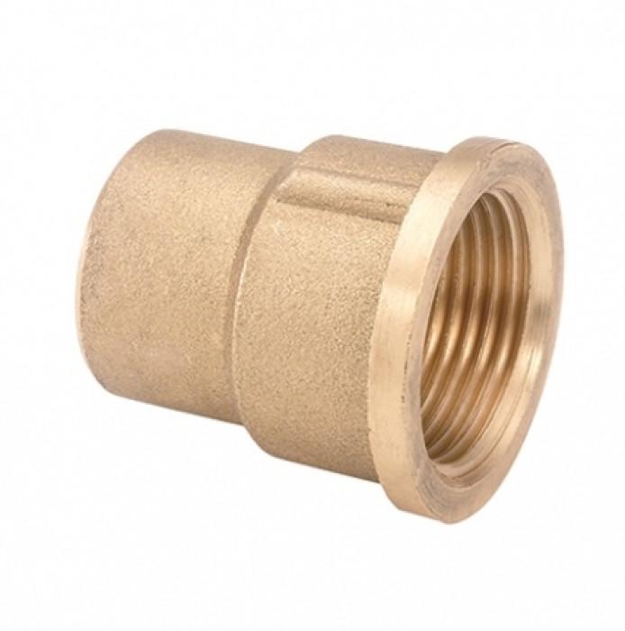 Brass reducing coupler  3/4