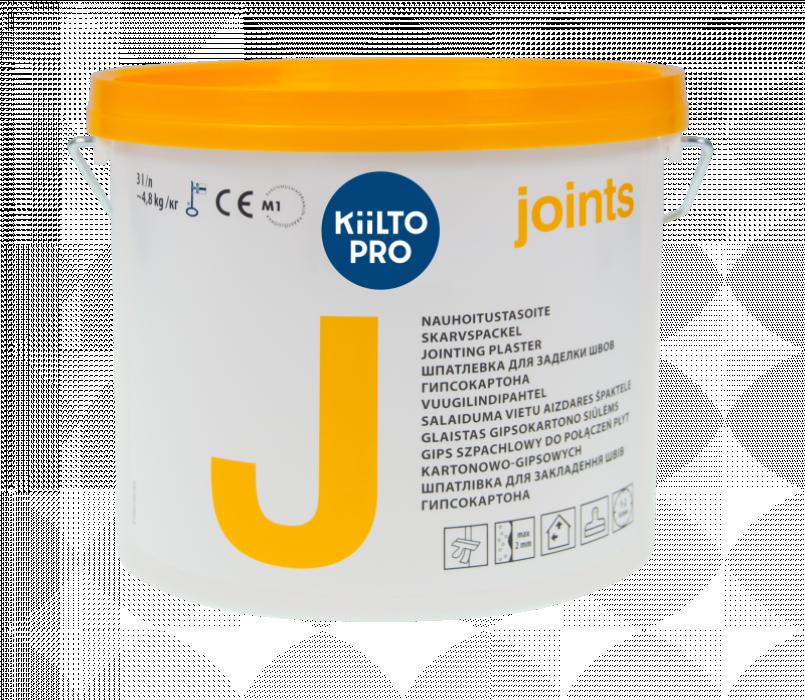 Kiilto J 4.8kg ready-mixed joint plaster