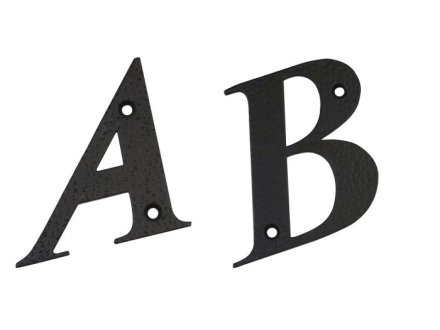 Burts A, melns, 100x97mm