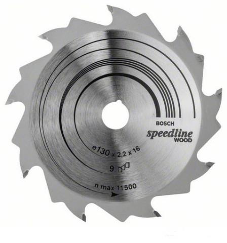Ripzāģa disks 130x16mm  Speedline Wood