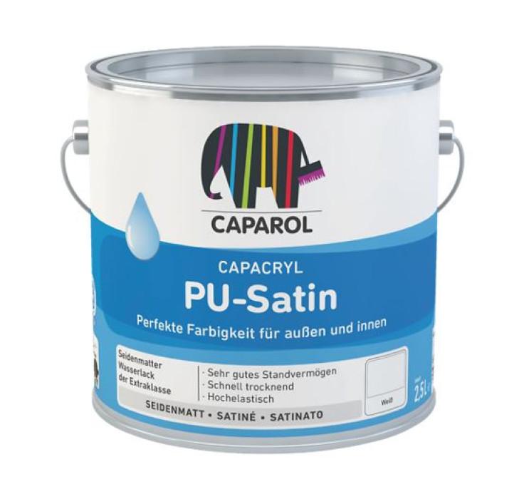 Acrylic enamel Capacryl PU-Satin 0.7l Basis T