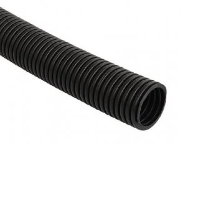Gofrēta caurule 16/10.7mm 10m 750N melna