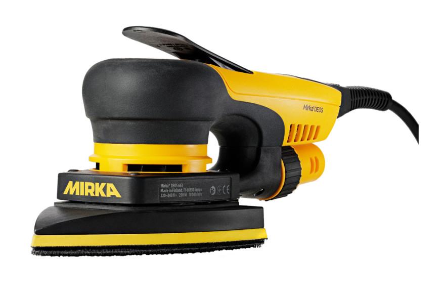 Orbitālā slīpmašīna MIRKA DEOS 663CV 100x152x152mm, MID6630201