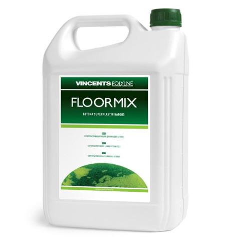 Vincents FLOORMIX 10L  Plastifikators siltām grīdām