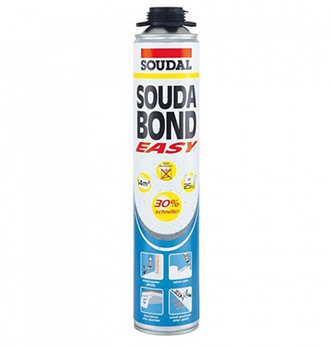 Soudal SOUDABOND EASY GUN Polyurethane adhesive 750ml