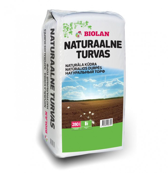 Biolan Pamata kūdra  280l  naturāla skāba (56kg)