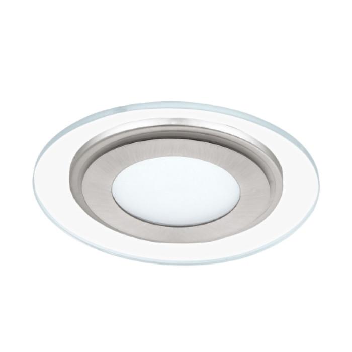 Встраиваемый светильник EGLO Pineda1 LED 12W 1000lm 3000K satin nickel 95932