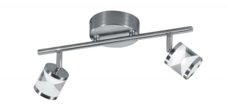 TRIO Sienas lampa CASSINI  2x4.5W LED 3000K 400lm,sudr.