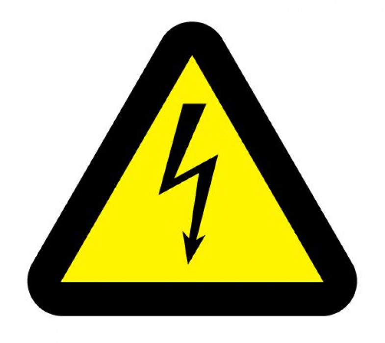 Sticker ''Danger electricity'' h8
