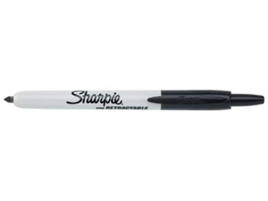 Marker Sharpie Retractable black
