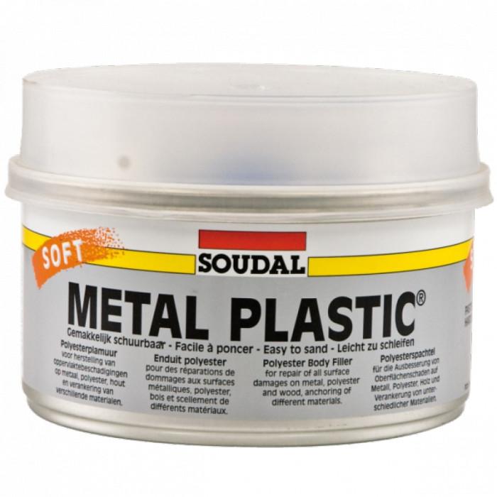 Soudal METAL PLASTIC Soft B 1kg