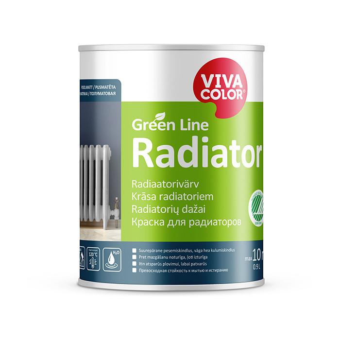 VIVACOLOR GL Radiator A 0.9L Semi matt radiator paint