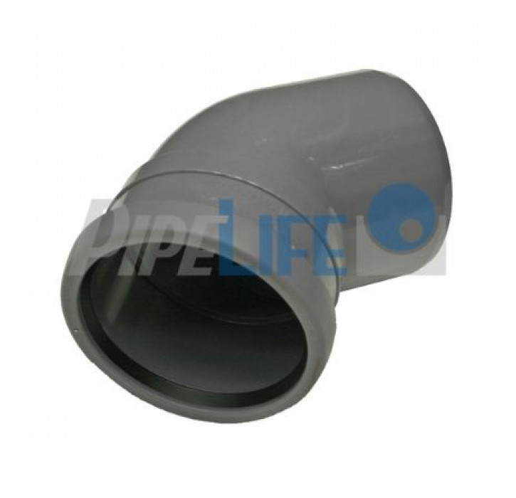 Indoor Sewer systems, PP elbow 75/15'