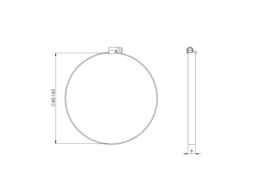clampmetal,Ø160mm