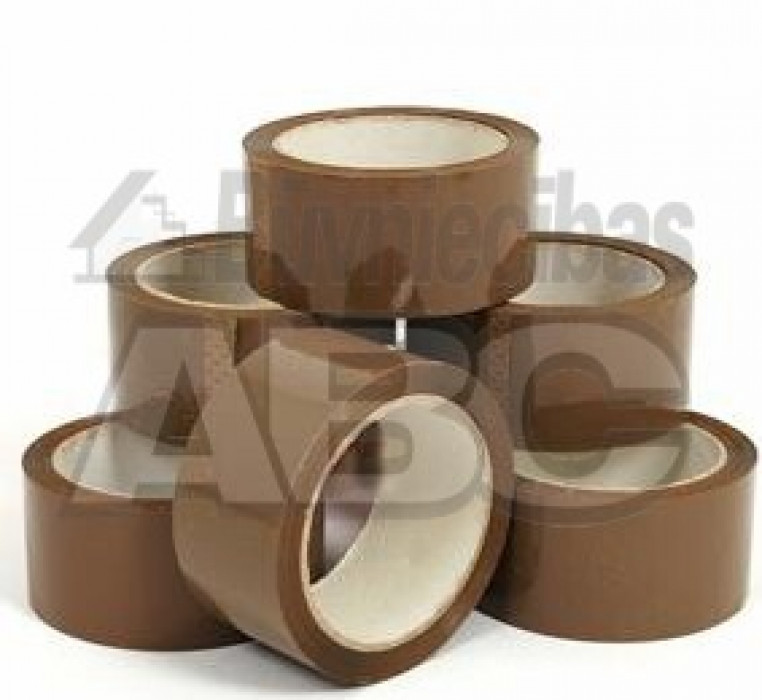 The packaging tape PP801 48mm/66m brown