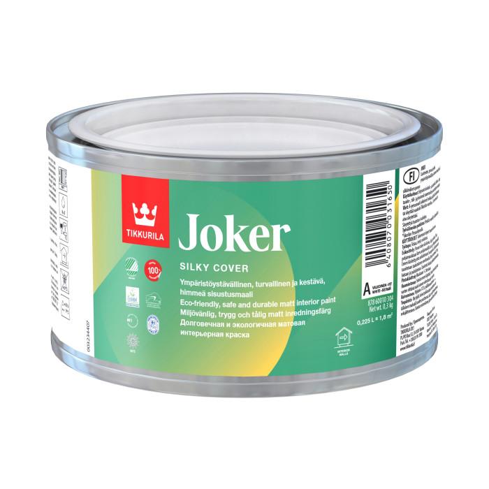 Tikkurila JOKER C 0.225L Solvent free co-polymer emulsion paint