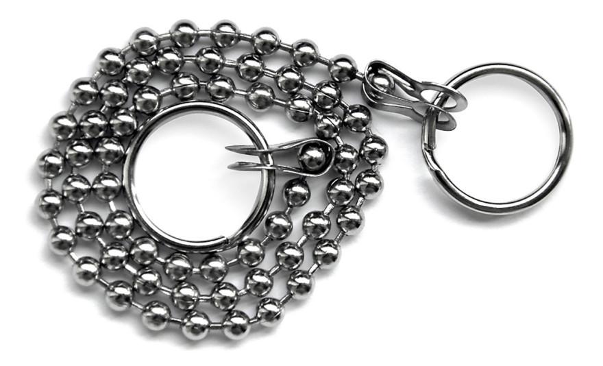 Plug chain, 26 cm, metal