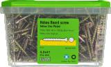 Skrūve OSB Hobau 4.2x41mm Zn dzeltena,TX15 800gab/iep., ESSVE 552442