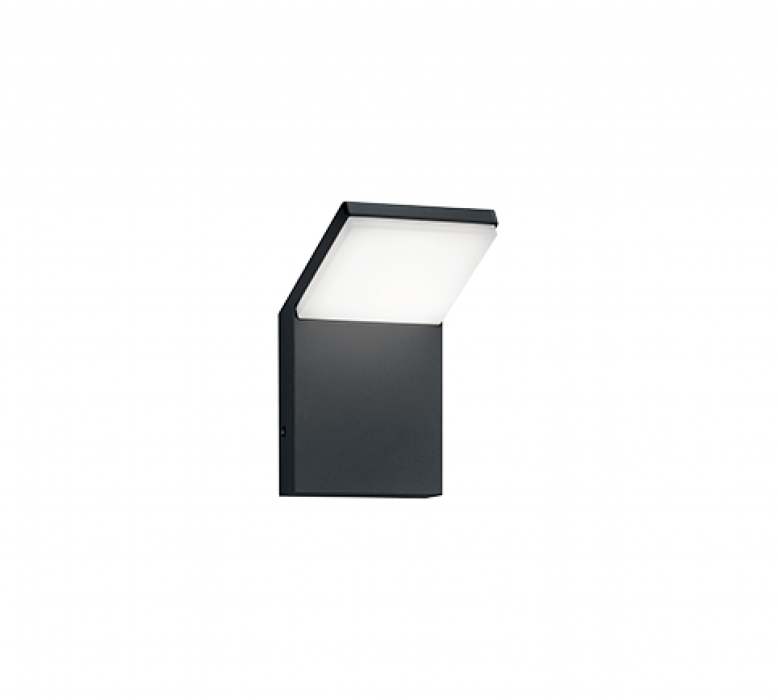 Наружное настенное освещение TRIO Pearl 1XLED SMD 9W 900Lm 3000K IP54 anthracite 221160142