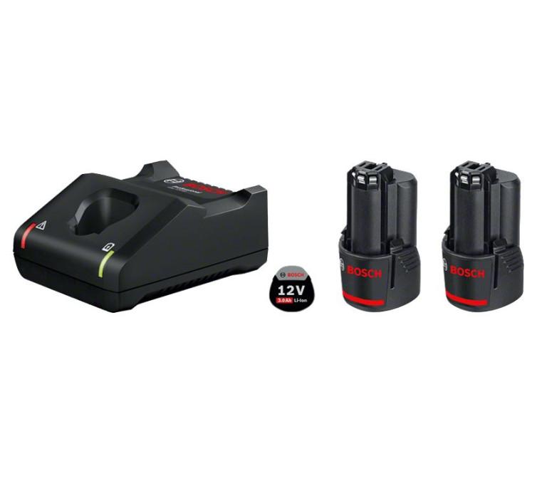 BOSCH 1600A019RD Стартовый комплект 12 Volt / 2 x 3.0 Ah Аккумуляторы и зарядное устройство GAL12V-40