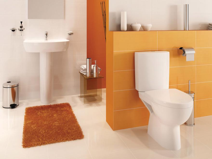 Cersanit WC pods PARVA CLEAN ON, hor.izvads ar SC vāku