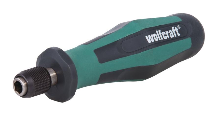 Uzgaļu skrūvgiezis ar magnētisku turētāju 1/4'', 138mm, WOLFCRAFT 1240000