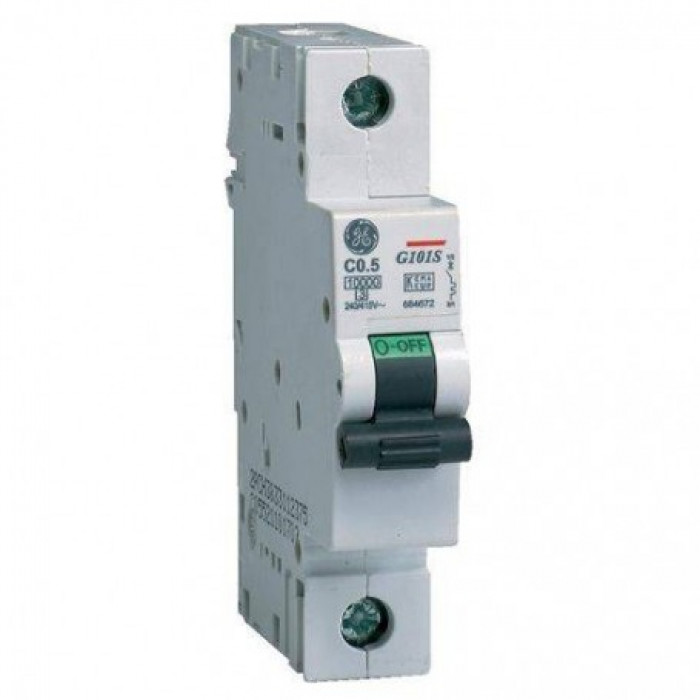 Miniature circuit breaker GE G60 1P 50A B