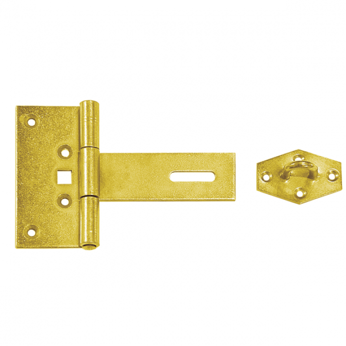 Hinge with lock, door 100x50x100x2.5mm