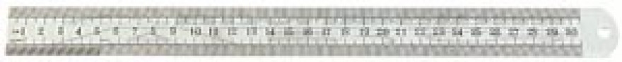 Lineāls metāla   500mm *