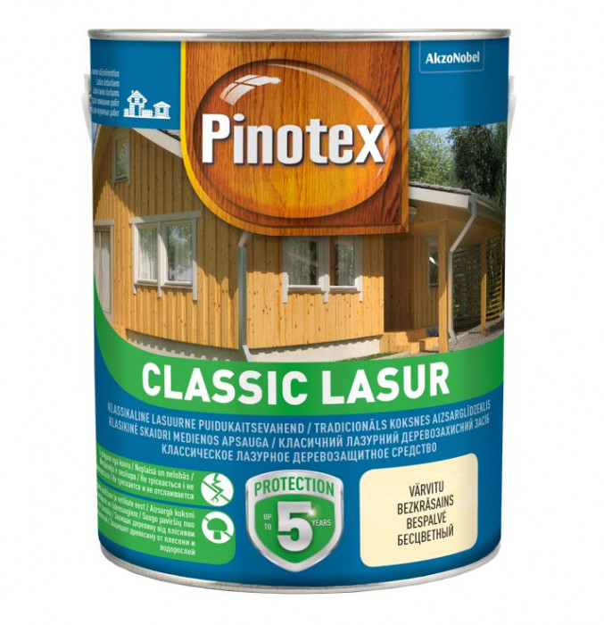 Pinotex CLASSIC LASUR 3L colourless