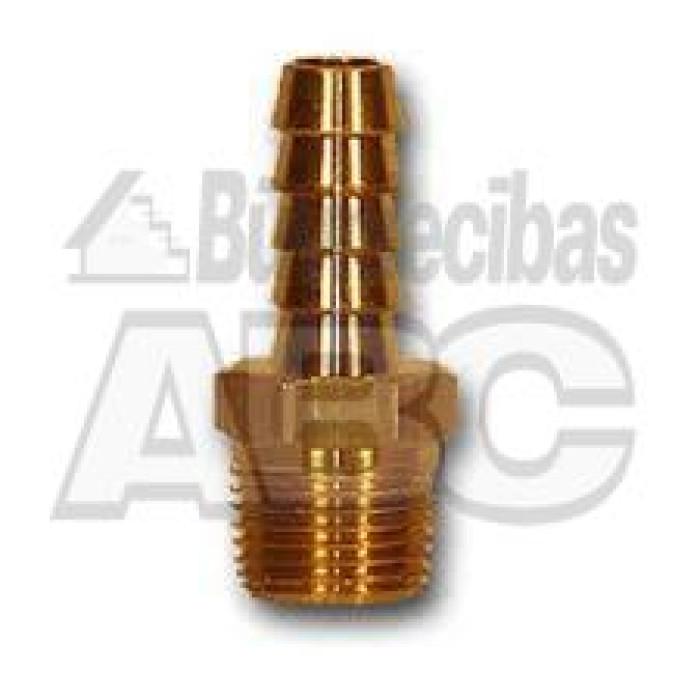 """Brass Fitting 1"""" - 25mm. M"""