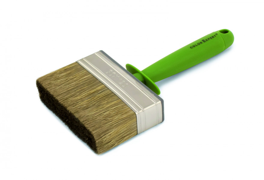 COLOR EXPERT Wall brush 3x12 mixed bristle, plastic body and 1K handle