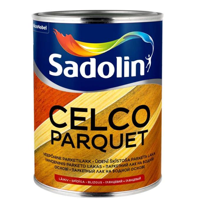 Sadolin CELCO PARQUET 10 1L Matēta, ūdenī šķīstošā laka