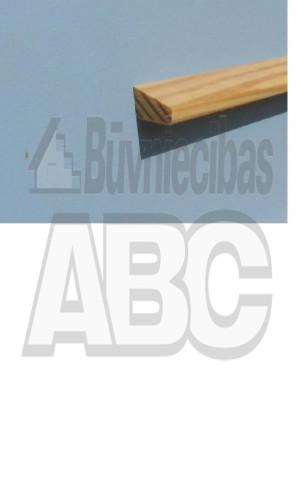 Stikla līste 9/15x2400  KL9/15MA