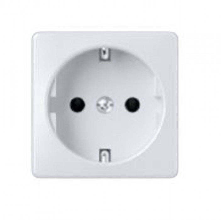 MIKRO socket without side earth b/r white