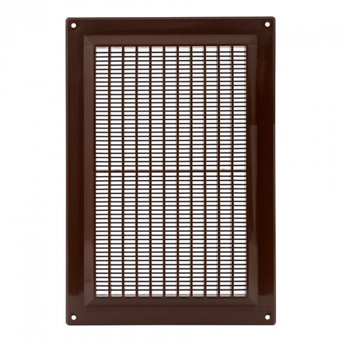 ventilationgrilleplastic,250x170mm,brown