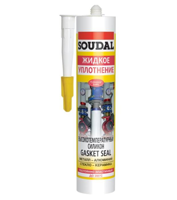 Soudal GASKETSEAL +285°C 300ml Hermētiķis