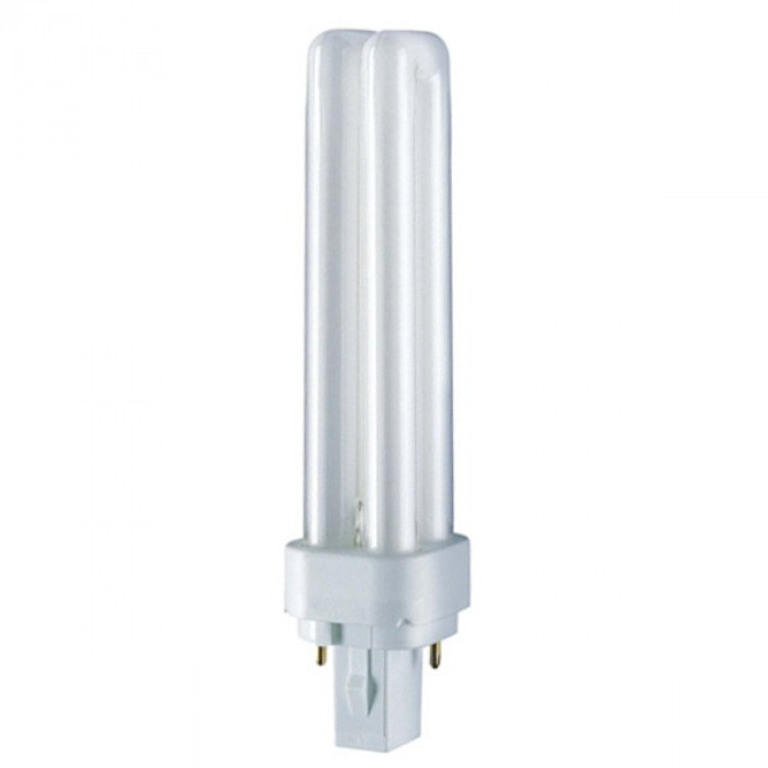 OSRAM DULUX D  26W  1800LM  4000K  G24d-3 CFLni, 2 tubes, with 2-pin base for CCG operation