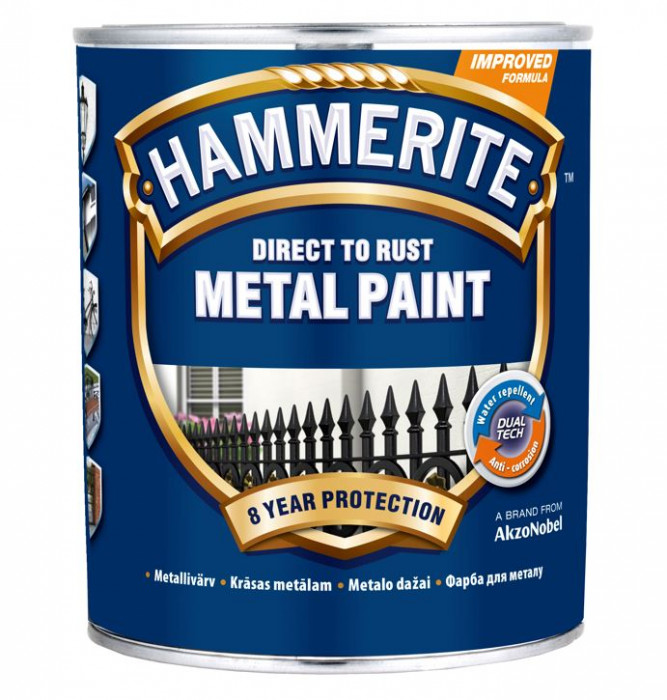 Hammerite Smooth Finish 750ml White