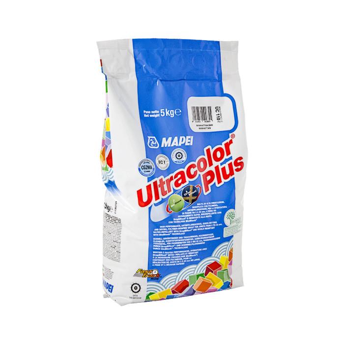 Mapei ULTRACOLOR Plus 113 5kg Šuvju pildmateriāls CEMENT GREY šuvotājs