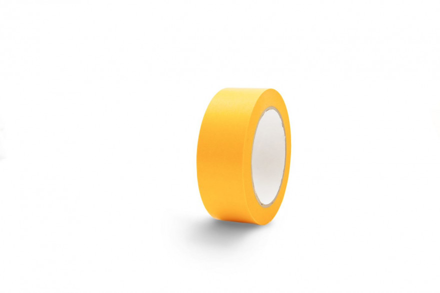 COLOR EXPERT Masking tape 25mmx50m gold, Acrylic UV60, 8,5my