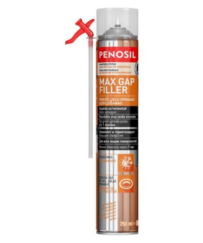 Penosil montāžas putas lielu  plaisu aizpildīšanai 750ml MAX GAP FILLER