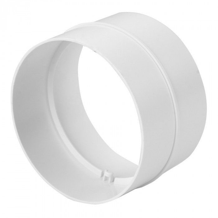 circular duct joint plastic, Ø125mm