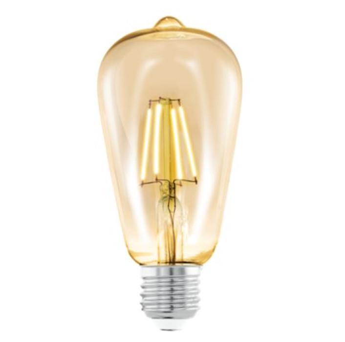 Spuldze EGLO AMBER LED 4W E27  2200K