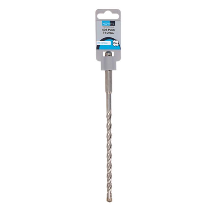 Hammer drill bit SDS plus S4 8x150/210mm NOVIPRO